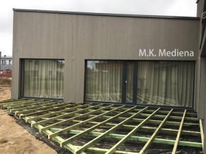 Paruošiamieji terasos montavimo darbai -  mediskitaip.lt