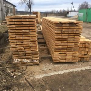 Statybinė mediena Panevėžio rajonas, UAB MK Mediena,  www.mediskitaip.lt