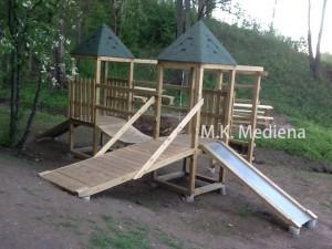 Vaikų žaidimo aikštelė - mediskitaip.lt